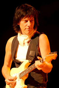 Jeff Beck (c: Ross Halfin/Digital manipulation: Kazuyo Horie)