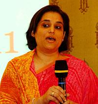 JFW Pressekonferenz 2011: Ritu Halder/UNWG