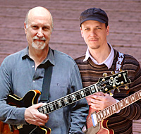 John Scofield & Kurt Rosenwinkel (c: Mark Hess)