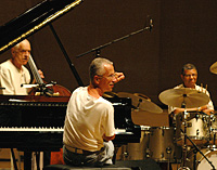 Gary Peacock/Keith Jarrett/Jack DeJohnette (c: Sven Thielmann/ECM Records)