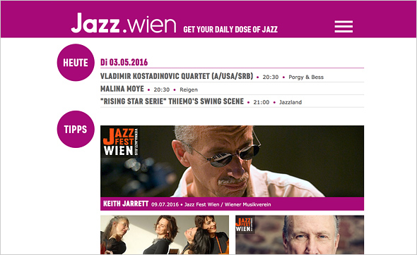 Jazz.wien – Get your daily dose of Jazz